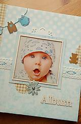 Papiernictvo - fotoalbum pre chlapčeka - 8079834_