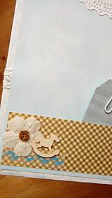 Papiernictvo - fotoalbum pre chlapčeka - 8079839_