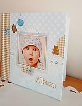 Papiernictvo - fotoalbum pre chlapčeka - 8079842_