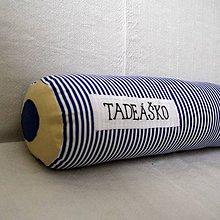 Textil - Ceruzka s menom 50cm - 8077938_