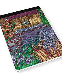 Papiernictvo - Skicár B5 Anglická záhrada - 8079152_