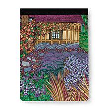 Papiernictvo - Skicár B5 Anglická záhrada - 8079153_