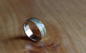 Prstene - Prsten Luxury Silver Tyrkys - 8081536  38d0813a067