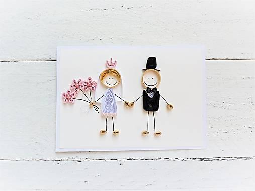 svadobná pohľadnica - na želanie