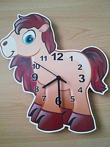 Hodiny - detské nástenné hodiny - 8084439_