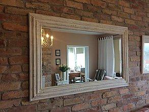 Zrkadlá - Zrkadlo Salish biele - 8082127_