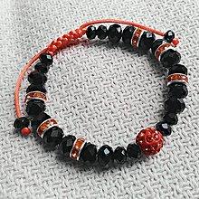Náramky - Čierno-oranžový - 8082243_