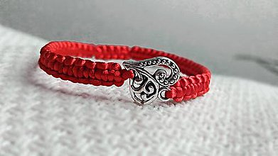 Náramky - Ornamentové srdce - 8082660_