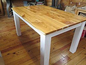 Nábytok - Drevený stôl - 8082015_