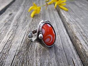 Prstene - Orange / prsteň - 8081835_