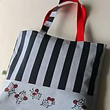 Nákupné tašky - BERUŠKOVÁ - velká taška - 8084671_