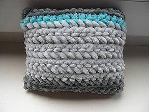 Úžitkový textil - malý vankúšik - 8084286_