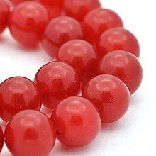 Minerály - NAT6681, Nefrit-Červený/10mm /1ks - 8084457_