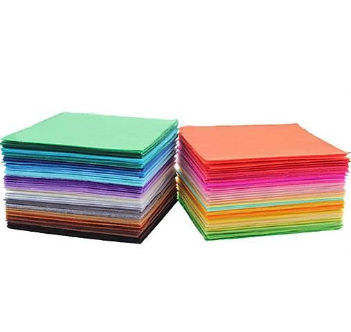 dd52726df Sada 40ks filc 15x15cm / wera.wera - SAShE.sk - Handmade Textil