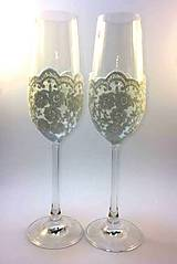 Nádoby - Svadobné poháre - 8083548_