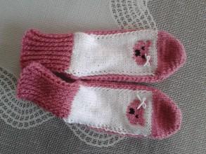 Obuv - ponožky staroružové Chalka - 8088536_