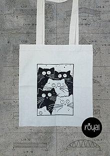Nákupné tašky - Jednoducho mačky - 8085741_