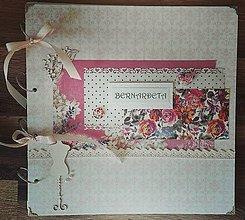 Papiernictvo - Veľký romantický fotoalbum pre dievča - 8085595_
