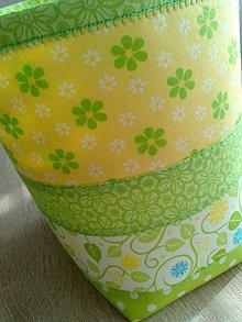 Úžitkový textil - Slnečný košík* - 8088005_