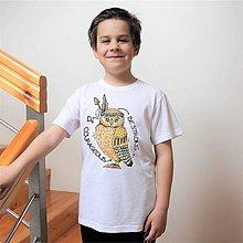 "Detské oblečenie - Tričko "" Buď udatný a odvážny "" - 8086280_"