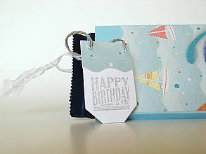 Papiernictvo - Krabička na čokoládu námornícka - 8088271_