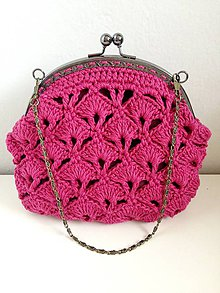 Kabelky - Vintage taštička bordová - 8086710_