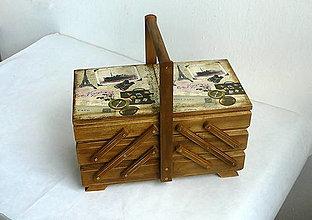 Krabičky - Box na šijacie potreby - 8087330_