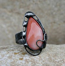 Prstene - Karneol prsteň - 8088887_