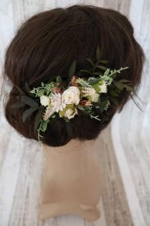 Ozdoby do vlasov - Spona - Krása prírody - 8088436_