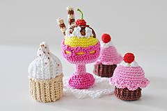 Hračky - Háčkované sladkosti - 8085667_