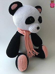 Hračky - Panda - 8091355_