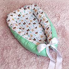 Textil - Hniezdo pre novorodeniatko - Mladý Indián - 8091310_