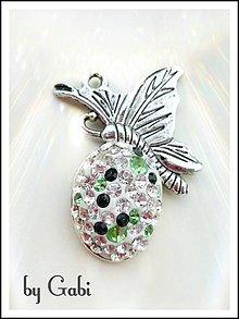 Iné šperky - Prívesok Motýl - 8091688_