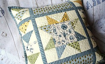 Úžitkový textil - Garden Notes ... vankúš No.1 - 8090595_