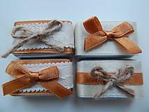 - Svadobné mašličkové mini čokoládky - RIOBA - 8091608_