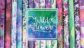 - Prémiová sada papierov 30,5x30,5cm, 48 listov Wild Flower - 8092451_