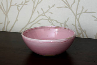 Nádoby - Misa - Šalatovka ružovkavá - 8092166_