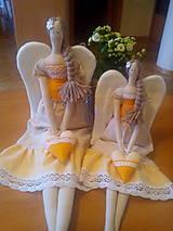 Bábiky - anjelik Tilda veľká - 8091374_
