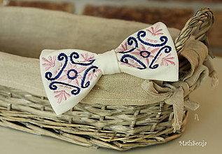 Doplnky - Svadobný motýlik - 8092507_