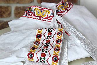 Oblečenie - Pánska folk košeľa II - 8092514_