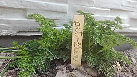 Dekorácie - Označovače na bylinky - 8090103_