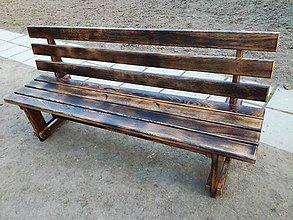 Nábytok - Lavička z dubového masívu - 8092081_