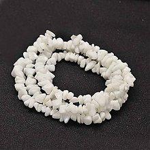 Minerály - NAT6686, Natur Porcelán Chipsy /10g - 8091390_
