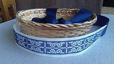 Opasky - opasok modrý - 8091545_