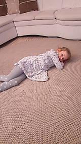 Okrúhly koberec - veľký priemer - 200 cm