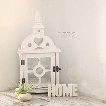 Dekorácie - Betónový nápis HOME - 8090895_
