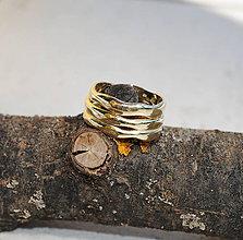 """Prstene - Obrúčky """"plynutie v harmónii"""" zlaté - 8094432_"""