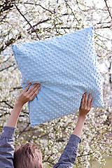 Úžitkový textil - Veľký minky vankúšik - 8093528_