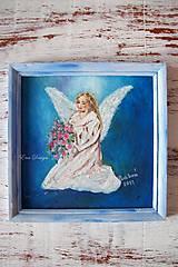Anjel vďaky - energický obrázok