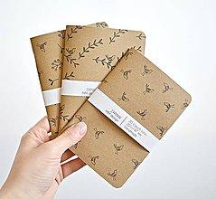 Papiernictvo - 3 zápisníky